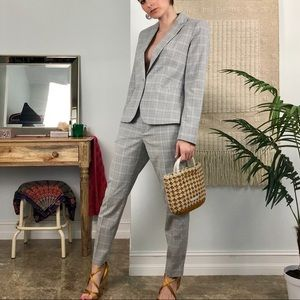 Zara Plaid Suit Set